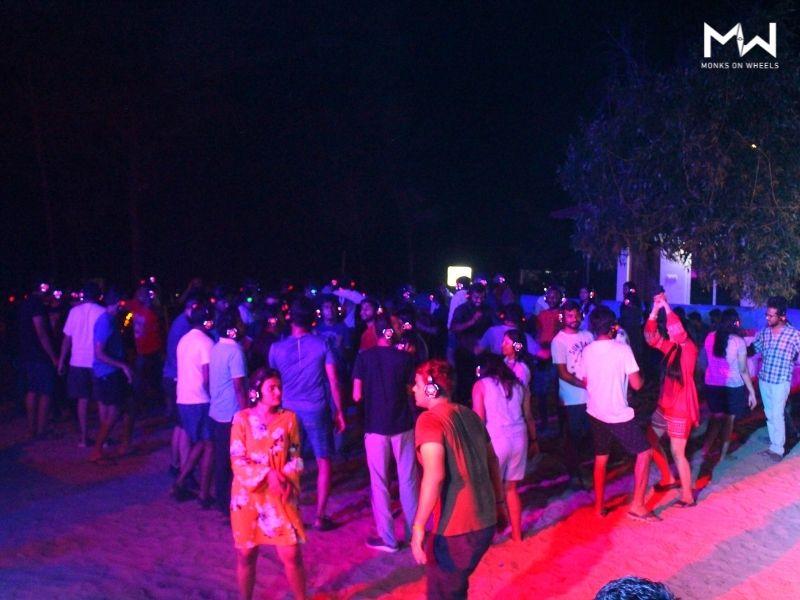 Gokarna beach party