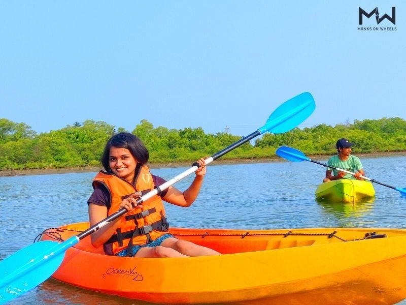 Kayaking and stand up paddle at mulki