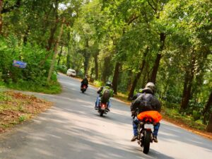 Treks with one day ride